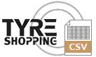 Tyre Shopping CSV
